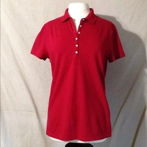 St. John's Bay Ladies Fitted Polo